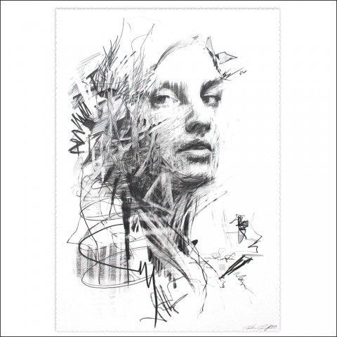 Troubled Thoughts by Carne Griffiths